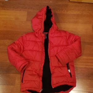 Faded Glory boys red winter jacket